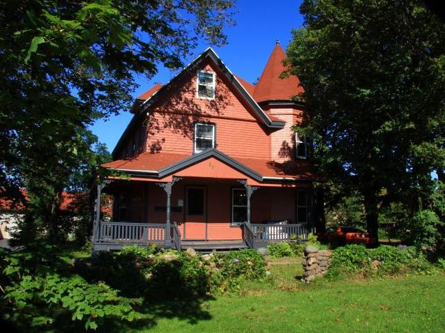 #Dewar #House, #Stratford #PEI - The town has multiple #historical #properties. This #Queen #Anne #Revival style home was designed and built in 1903 by Dr. George Forbes Dewar.