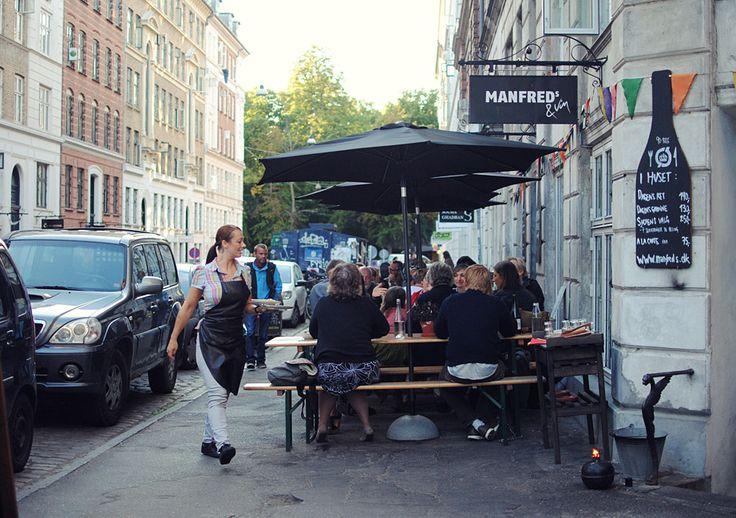 Manfreds outside - Nørrebro, Copenhagen http://www.visitcopenhagen.com/