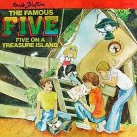 Enid Blyton / Энид Блайтон. The Famous Five / Великолепная пятёрка (audiobook+ txt)