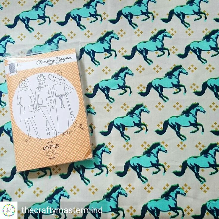 The lottie and the mustang fabric are an amazing match! Available at www.thecraftymastermind.co.uk