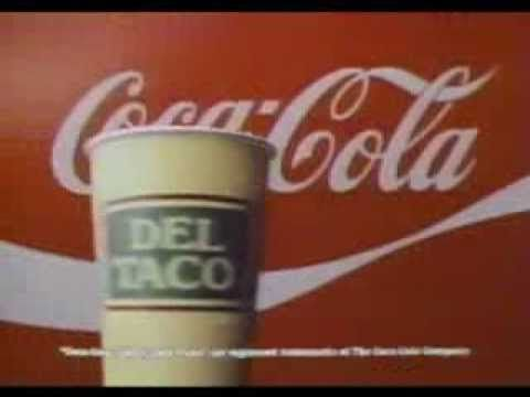 Del Taco - 80s Chicken Fajita Salad Ad - YouTube