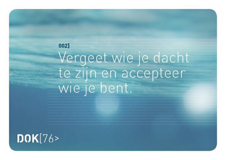 Accepteren.... Mindful.... DOK76