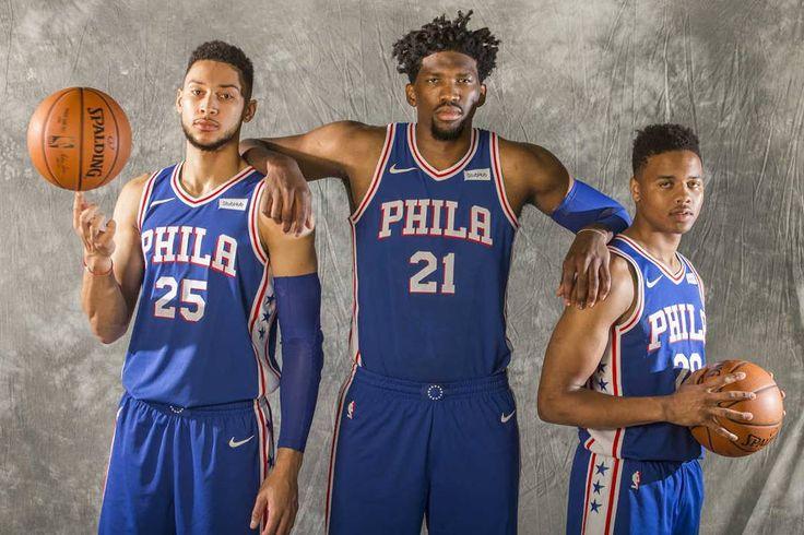 Estos tres señores llevarán a los Sixers a play offs después de tanto tiempo?  Nosotros lo tenemos clarísimo: SÍ  #sixers #nba #nbanoticias #nbanews #markellefultz #embiid #bensimmons