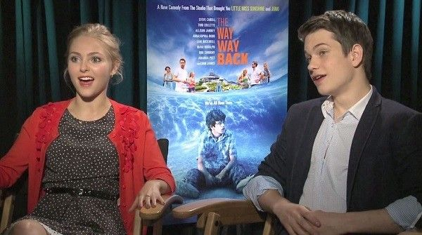 The Way, Way Back: AnnaSophia Robb and Liam James on power of Sam Rockwell