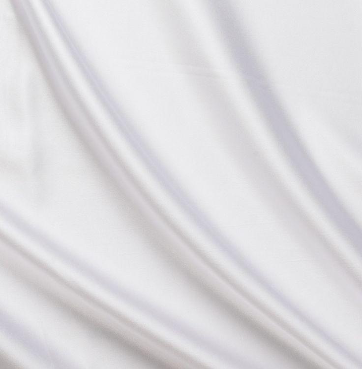 White Satin Linen