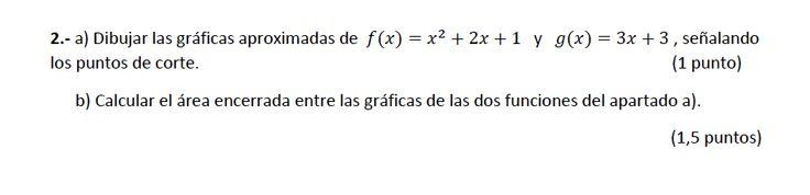 Ejercicio 2A 2014-2015 Julio. Matemática, pau de Canarias, matemática 2, integrales