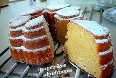 Αφράτο κέικ με πορτοκαλάδα