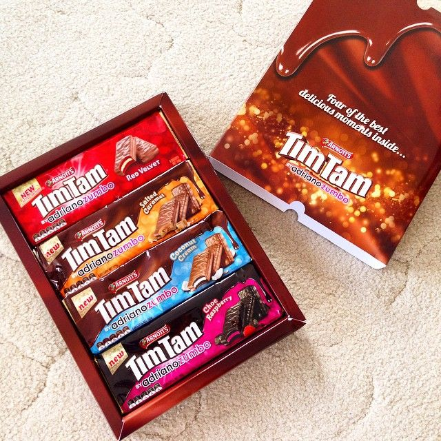 Just when I thought this long weekend couldn't get any better, this package arrived in my doorstep! More chocolate overload thanks to Timtams. It's a tie between Red Velvet and Salted Caramel for me.
