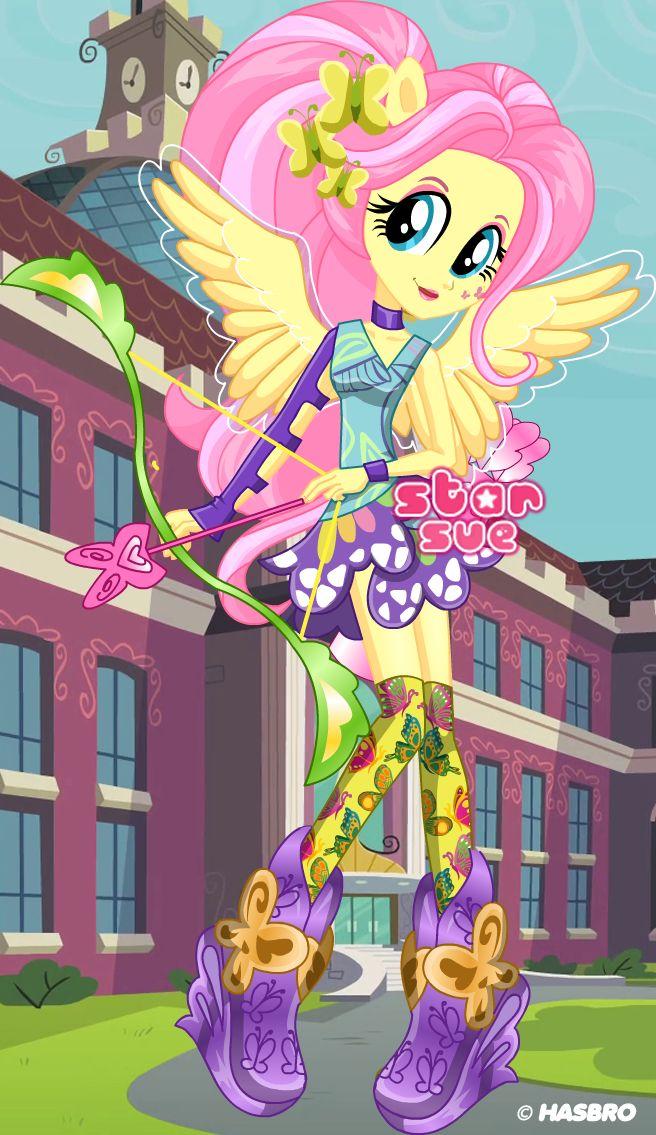 MLPEG Friendship Games Fluttershy Archery Style Dress Up
