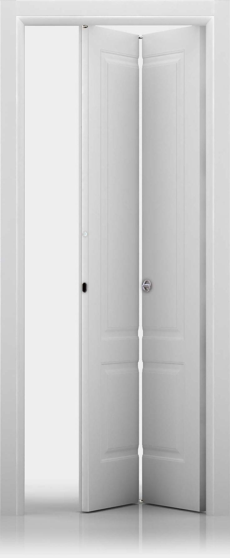 porta cieca a libro  finitira laccata bianca  modello Kevia 2  Ferrero Legno
