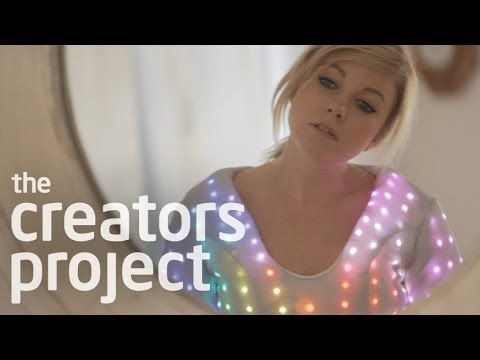 Little Boots' Cyber Cinderella LED Dress | UK electropop artist Little Boots reinvents her performance by enlisting designer Michelle Wu to make an LED dress that reacts to the beats of the encore for her current Nocturnes tour. | Creators Project