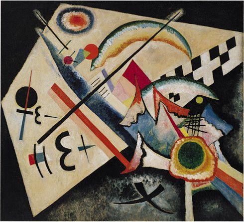 Collection Online | Vasily Kandinsky. White Cross (Weisses Kreuz). January–June 1922 - Guggenheim Museum