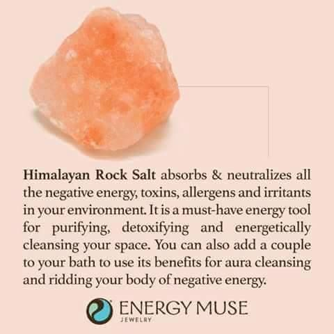 Himalayan Rock Salt Crystals | #crystalhealing