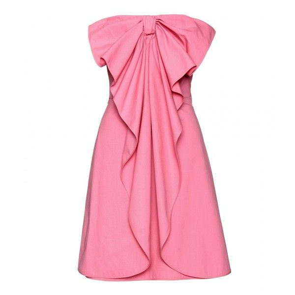 Valentino Strapless Bow Dress- have to love it.