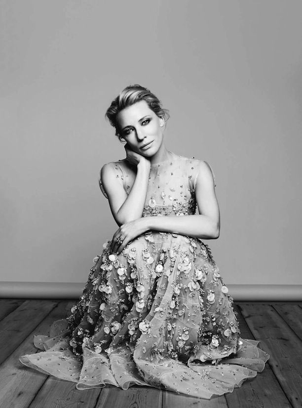 CATE BLANCHETT HARPERS BAZAAR UK DECEMBER 2013 PHOTOGRAPHER BEN HASSETT