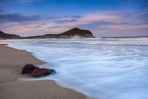 Playa los Genoveses, Cabo de Gata, Almeria. La mejor playa virgen de todo el parque.