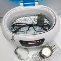 Mini ultrasonic sterilizer for disinfecting metal tools, glasses, jewelry, teeth brush... Notable c