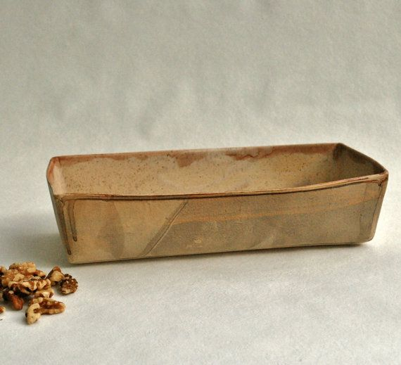 Ceramic Baking dishRustic Baking Dish Kitchen by ShellyClayspot