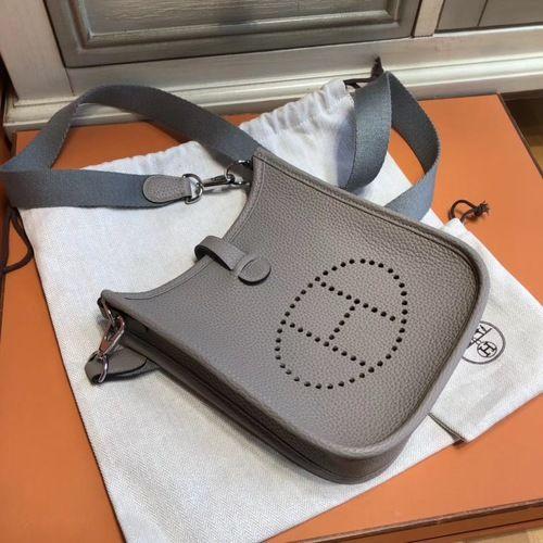 10b5e7467b Hermès Evelyne Mini Bag TPM Etoupe  FW2018  onlineshopping  discountbag   designerbag  fashionistas