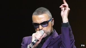 Singer George Michael has cancelled the Australian leg of his tour due to 'major anxiety' following his battle with pneumonia at the end of last year. (via BBC; photo via PA)