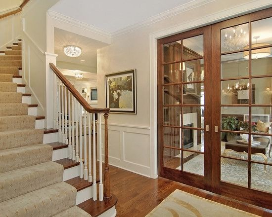 White Trim Wood Door Design, Pictures, Remodel, Decor and Ideas - page 4