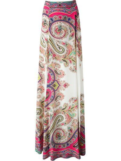 ETRO - printed maxi skirt 6