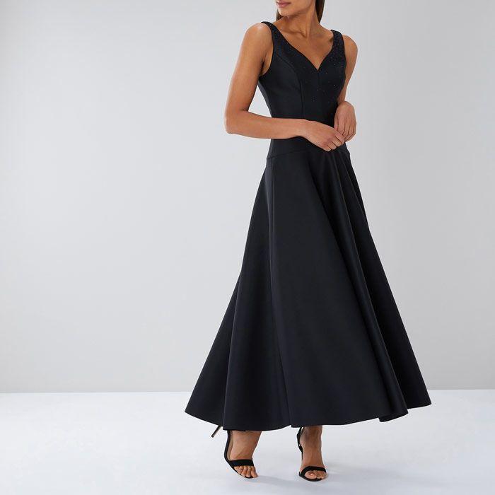 55caaddd66 Coast Black Dresses Amendine Sparkle Maxi Dress 2065780