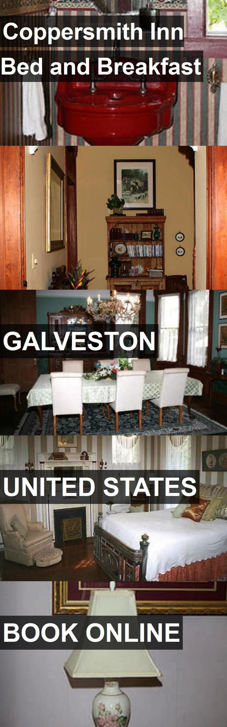 Hotel Coppersmith Inn Bed and Breakfast in Galveston, United States. For more information, photos, reviews and best prices please follow the link. #UnitedStates #Galveston #travel #vacation #hotel