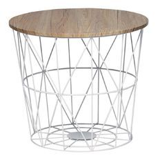 Living & Co Wire Nest Table White $30