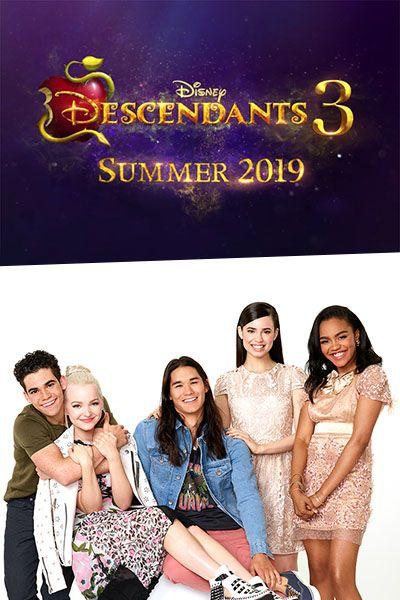 #Disney Channel Announces #Descendants3 for #Summer2019