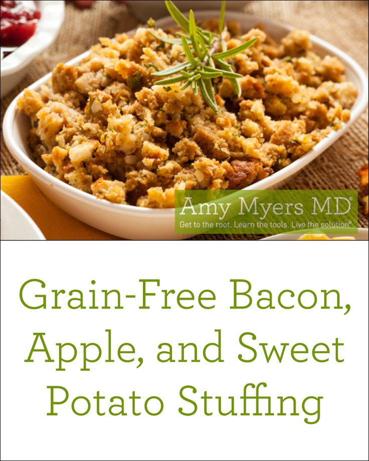 AMAZING Grain-Free Bacon, Apple, and Sweet Potato Stuffing! | The ...