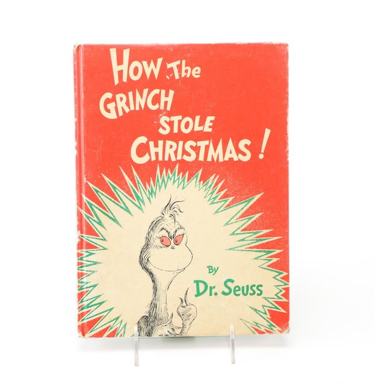 """Later Edition """"How the Grinch Stole Christmas"""" by Dr. Seuss"""