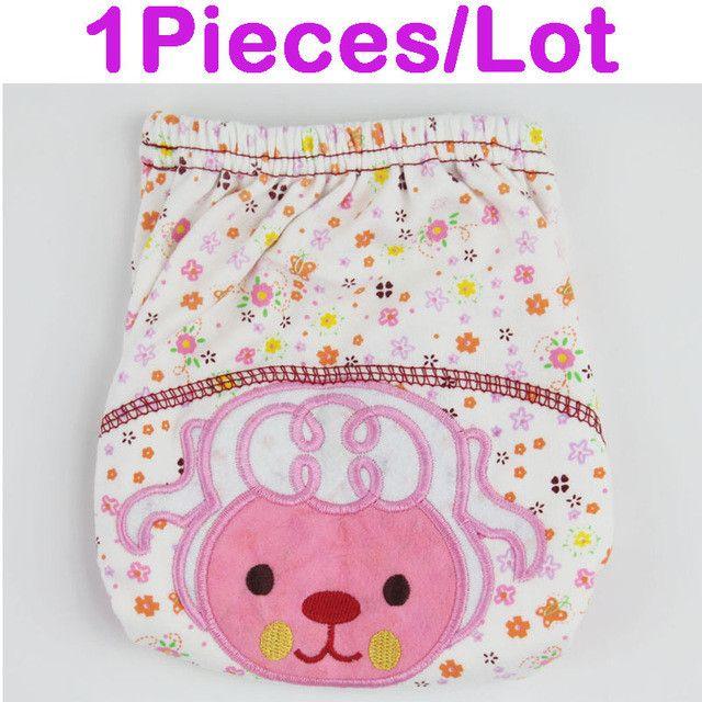 Baby/Infant Cotton Waterproof Reusable Nappy Diaper Training Pants Briefs Boy Girl Underwear Washable Fraldas Reutilizaveis