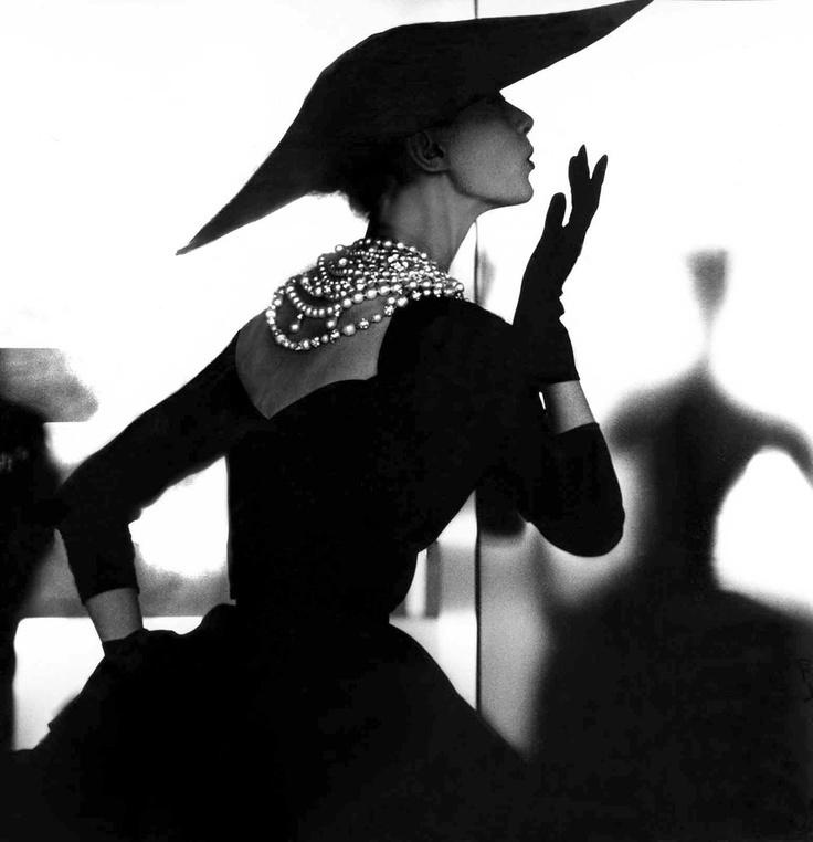 """Barbara Mullen Blowing Kisses,"" 1958.: Lillian Bassman, Inspiration, Style, Vintage Fashion, Blowing Kisses, Fashion Photography, Barbara Mullen, Has, Black"