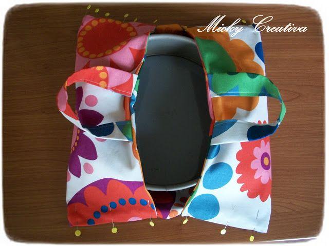 donneinpink- fai da te e consigli per gli acquisti: Come fare borse porta-torta. Utili e facili da realizzare!