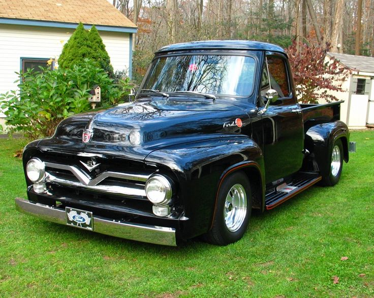 55 Ford Pickup | 1956 Ford F100 – Dealer Bar by www ...