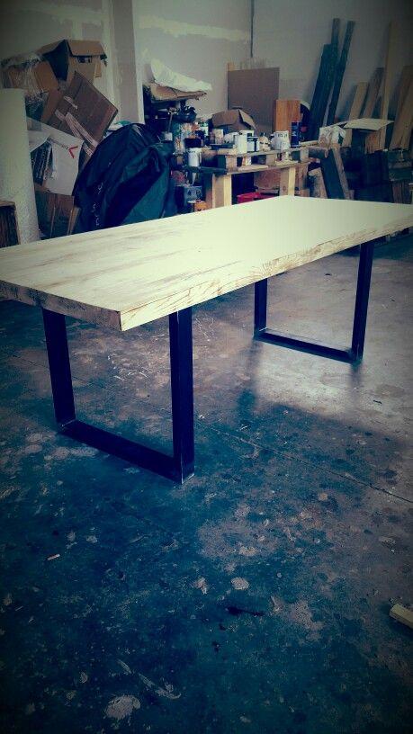 Table wood design Handmade italiano design