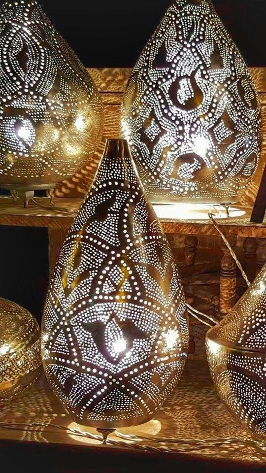 Hand Crafted Arabian Egyptian Moroccan Style Lamps Table Homedecor Homedecorideas Boho Moroccanlanterns Aff