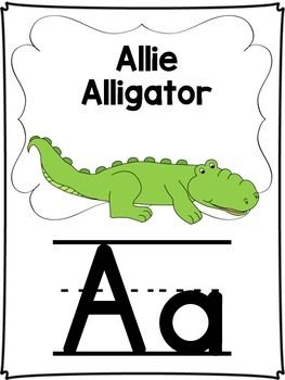 Zoo Phonics Alphabet Cards