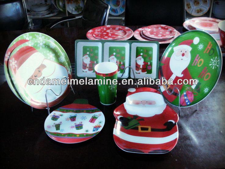melamine christmas dinnerware sets | UK melamine christmas dinnerware sets on sale | Melamaine/Melmac II | Pinterest | Christmas dinnerware sets ... & melamine christmas dinnerware sets | UK melamine christmas ...