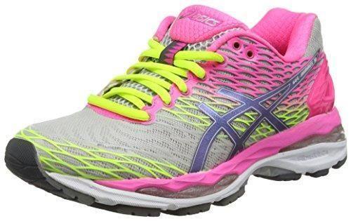 Oferta: 180€ Dto: -11%. Comprar Ofertas de ASICS - Gel-nimbus 18, Zapatillas de Running Mujer, Gris (silver/titanium/hot Pink 9397), 39 EU barato. ¡Mira las ofertas!