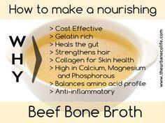 Back to Basics: How to make a nourishing Beef Bone Broth