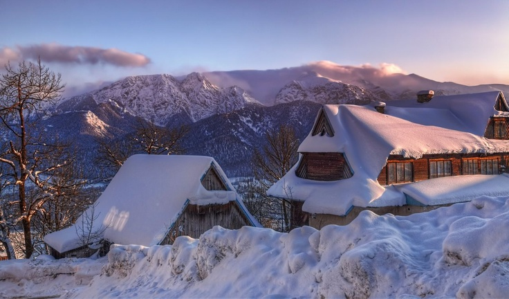 Alpine view in Tatra mountains ~ http://hdrphotographer.blogspot.com/2013/02/alpine-view-in-tatra-mountains.html