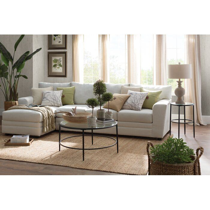 Greyleigh Findley Sectional Reviews Wayfair Casual Living Room Furniture Living Room Decor Neutral Casual Living Rooms