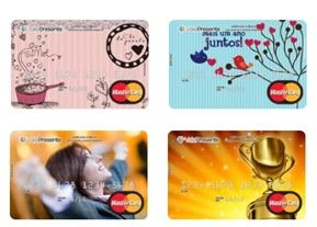 Cartão Pré-Pago MasterCard Vale Presente