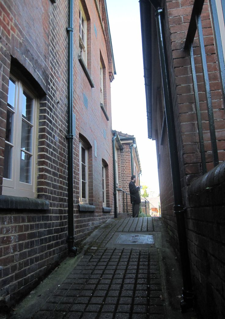 The Guildford Spike as it is today.  View from Undercroft upto Vagrants entrance.