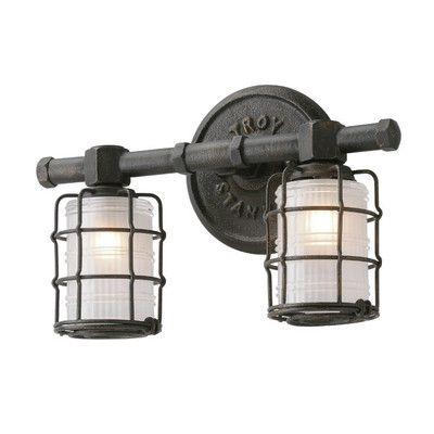 Troy Lighting Mercantile 2 Light Vanity Light