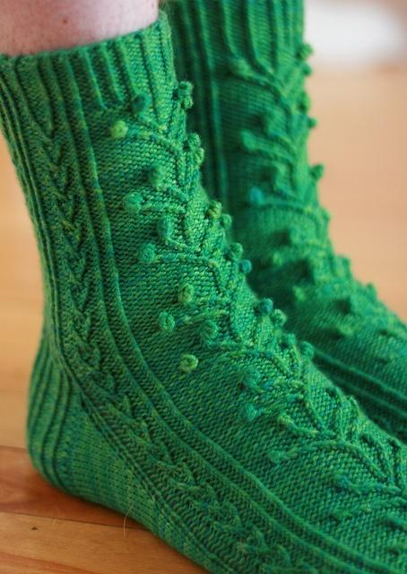Marching on sock pattern by Glenna C. Knit in Purple Label ...