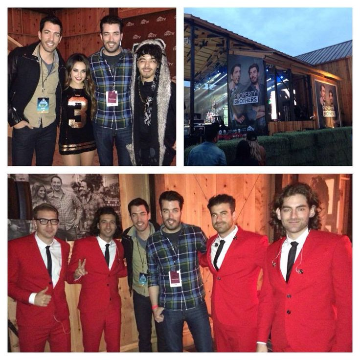 Kicking Off SuperFanFest At The Hgtv Lodge With Mrdrewscott Becky G And M