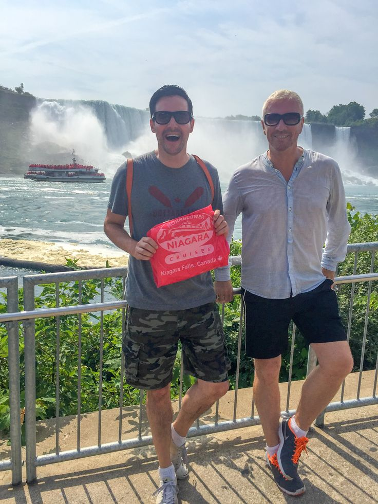 Colin McAllister and Justin Ryan of TV's Cabin Pressure and Game of Homes visit Hornblower.